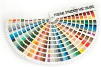 FEDERAL STANDARD COLOR CHART